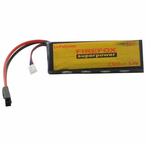 7.4V 2300Mah Li-Po Battery