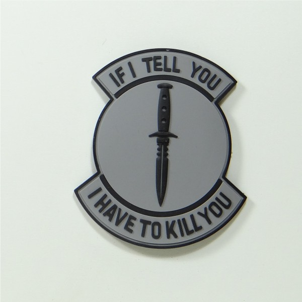 If I Tell You PVC Patch